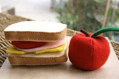 Felt lunch by mojoandco, via Flickr
