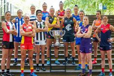AFL has no plans to rename the league AFLM after Nicole Livingstone's radio silence Rugby World Cup, Women's World Cup, Fixture List, Australian Football, Challenge The Status Quo, Sports Stars, Thats The Way, Abc News, Girls Be Like