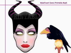 Unique Maleficent Comic Printable by AmazingPartyShop on Etsy