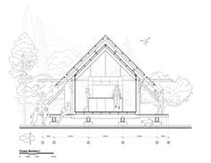 Image 30 of 31 from gallery of House / Teke Architects Office. Arch House, House Roof, Local Builders, Office Plan, Roof Structure, Image 30, Design Language, Residential Architecture, Architecture Details