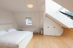 i love attic bedrooms