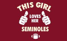 Yes I Do! Go Noles!