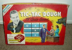 1950s games | ... Seminarian: Game Show Board Games: Tic-Tac-Dough (1950s version