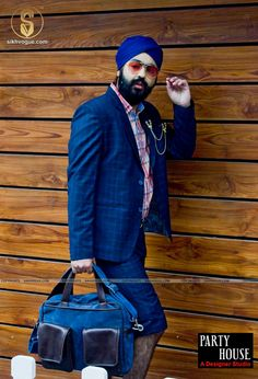 When turbanista walks People stare and talk, Let's make it worth their while!  Models: Jasneet Singh Theme: Upscale Street Stylist: Anish Gopal Photography: Nikhil Raj Makeup artist: Gurmeet Kaur Wardrobe: Party House A Designer Studio Location: Lanterns kitchen n bar Accessories: shopharp.com  #Upscale #street #style #SikhVogue #fashion #magazine #photography #Singh #model #turban #beard #sikhism