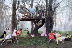 Campagne 2013 Le Jardin Secret de Dior 2 : Escapade dans la Forêt de Versailles
