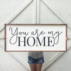 Diy Home Decor Rustic, Handmade Home Decor, Wood Signs Home Decor, Prim Decor, Country Decor, Home Design, Menu Design, Interior Design, Design Ideas