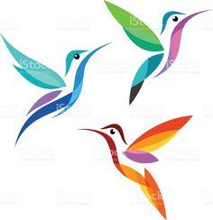 Chim cách điệu cổ phiếu trả tiền bản quyền miễn phí nghệ thuật vector