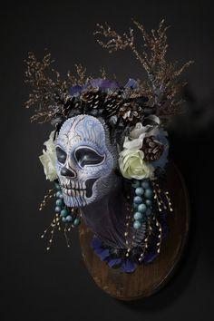 Winter Muerita  Muertitas, Masks of the Four Seasons by Krisztianna