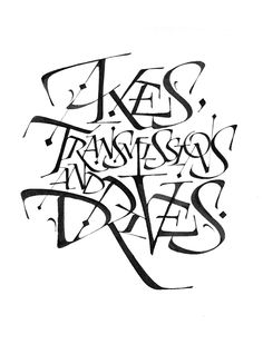 Luca Barcellona- Calligraphy - metallic nib on paper. Personal style based on roman capitals.