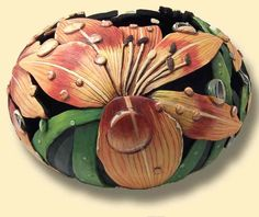 Carved and Sculptured Gourds Created with Passion by Phyllis Sickles