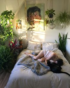 At first I thought the plants were weird but then I was like that would actually be so calming