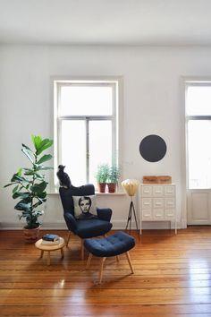 interiordesign - Unbehandelte Ziegelwand