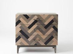 Parquetry 3-Drawer Dresser. www.LookNook.co