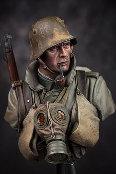German Trench Raider WW1