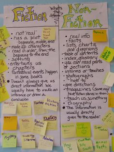 Teaching Fiction and Non-Fiction