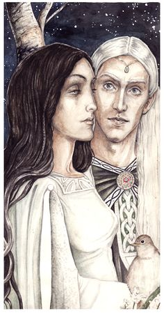 Melian & Thingol The Girdle also protected Doriath from the dark influence and prying eyes of Morgoth, similar to the way Galadriel used Nenya to protect Lothlórien from Sauron. Only those permitted by Thingol or Melian, or with power greater than Melian, could successfully navigate through it. The only recorded two to have passed through against her will were Beren and Carcharoth.