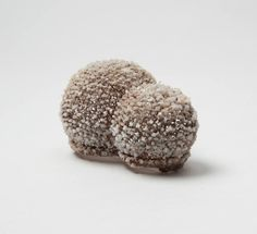 Salt Brooch 06. 2016. Salt, Iron Wire - OPENING TODAY: 17/09 SATURATION POINT / First solo exhibition by Israeli artist Naama Bergman, student in her 3rd year in the jewellery class of the Academy of Fine Arts Munich, Vessels and jewelry made of crystallised salt on fine iron. Exhibition: Sept. 17 - Oct. 8 2016 Artist Reception: Saturday Sept. 17, 6-8 pm Gallery Loupe 50 Church St. Montclair, NJ 07042 USA http://galleryloupe.com/exhibitions/71
