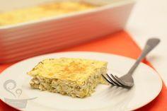 Receita fácil de torta de abobrinha com ricota do Blog de Culinária Naminhapanela.com
