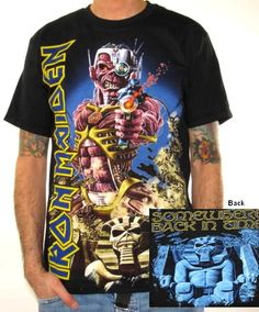 Iron Maiden, T-Shirt, Somewhere Back In Time Jumbo