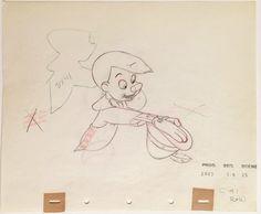 1940 Walt Disney Raro Pinocchio Produção Original Desenho Animação Cel | eBay
