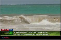 Gobernador De Puerto Rico Confirma 3 Fallecidos Por Impacto De Huracán Irma En La Isla