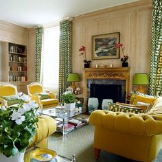 Looking for living room ideas? See hundreds of stylish designs to inspire colour in a wooden room