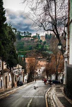 Levantando el vuelo hacia la Torre de los Picos en Granada ©Manuel Rodríguez García