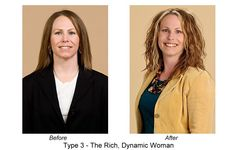 Hot Mama Makeover! Dressing Your Truth Before and After - The Carol Blog