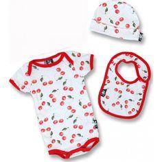 Six Bunnies - Cherries Baby Gift Set
