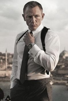 James Bond (Daniel Craig) - Skyfall (2012) | male character inspiration | spy | writing | filmmaking | stories