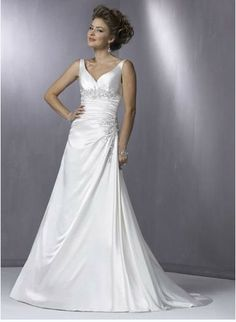 Wedding dresses with straps 4