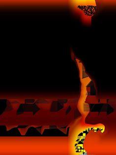 Fernando Aladrén _ artista plástico: desiertos en llamas nocturnas