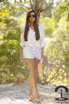 Crimenes de la Moda: DIY Lace shorts
