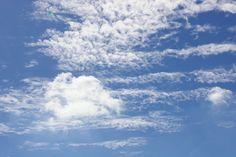 Wolken vlekken
