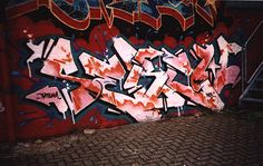 Grafitti letters (zelf gemaakt)