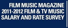 2011-2012 Film and TV Music Salary and Rate Survey