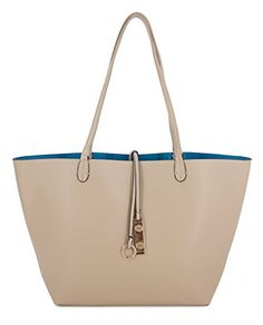 Proya Collection Reversible 2 in 1 Fashion Tote Handbag with Pouch (Beige) PROYA http://www.amazon.com/dp/B00QJ7JVDA/ref=cm_sw_r_pi_dp_Jy3Bwb0QR26DQ