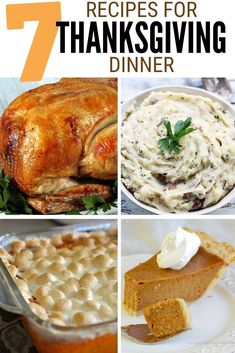 Are you in charge of Thanksgiving this year? Click here for the 7 Recipes for a Thanksgiving Dinner your guests will not forget! #thecraftyblogstalker #thanksgivingrecipes #thanksgiving #dinnerrecipes #recipes #holidaydinner Thanksgiving This Year, Thanksgiving Dinner Recipes, Holiday Dinner, Easy Diy Crafts, Menu Planning, Yummy Food, Delicious Food, Good Food