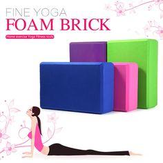 Yoga Block Brick Foam Home Exercise //Price: $8.65 & FREE Shipping //