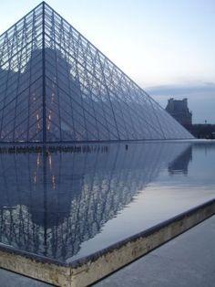 Pyramide du Louvre by I.M.Pei