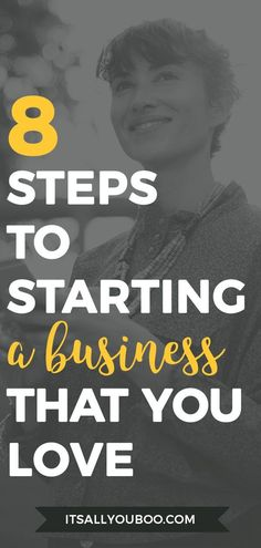 Want to profit from your passion? Learn to start a profitable business you love in 8 easy steps. Plus, get your FREE Strategic Planning Workbook. Make Money Blogging, Make Money From Home, Way To Make Money, Make Money Online, Earn Money, Money Tips, Business Entrepreneur, Business Tips, Online Business