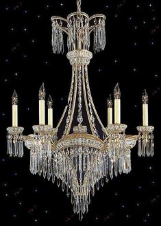 This a stunning Victorian Chandelier in the style that was popular in the mid-1900s.