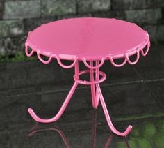 Retro Patio Table - Choice of Three Colors