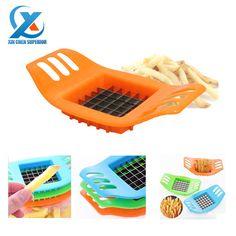 Нож из нержавеющей стали для картофеля фри, резак для картофеля, инструмент для резки овощей и фруктов, быстрая доставка купить на AliExpress