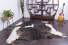Every cowhides rug we carry is of the highest quality! Pls noted that this rug has some natural scars as pictures showedCow Hides Are Not All Tanned the SameA p