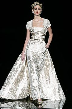 Valentino Spring 2005 Couture Collection Slideshow on Style.com