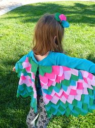 Dress-Up/Costume Bird Wings - The Spotted Lamb tutorial
