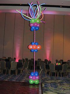 Colorful Balloon decor ~ cute!
