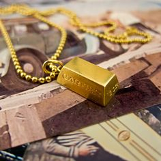 Cartier Bullion Pendant by ErstwhileJewelry on Etsy, $2100.00