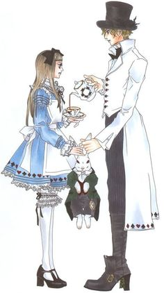 Alice and the Mad Hatter- Anime